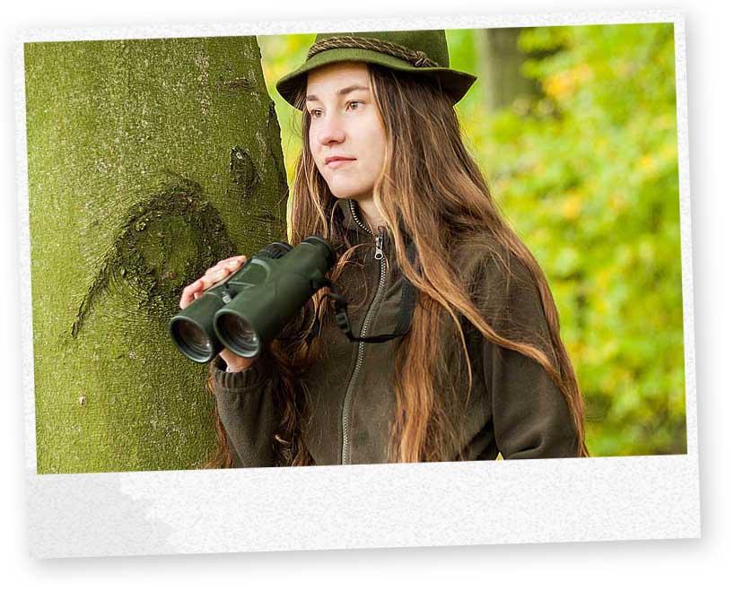 Studentka lesnictví